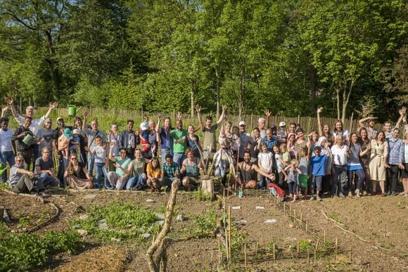Zusammen gärtnern