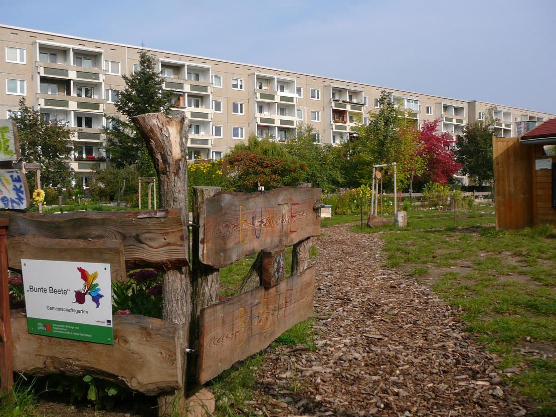 Garten der Integration in Halle