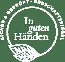 Logo In guten Händen