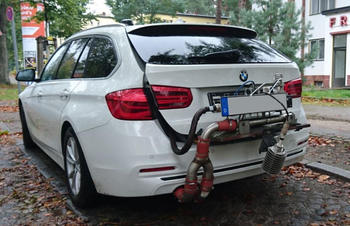 Abgastests Am Bmw 320d Deutsche Umwelthilfe Widerspricht Kraftfahrt