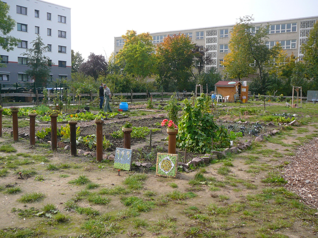 Garten der Integration in Halle