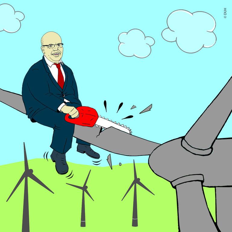 teaser Altmaier stoppen: Windkraft retten!