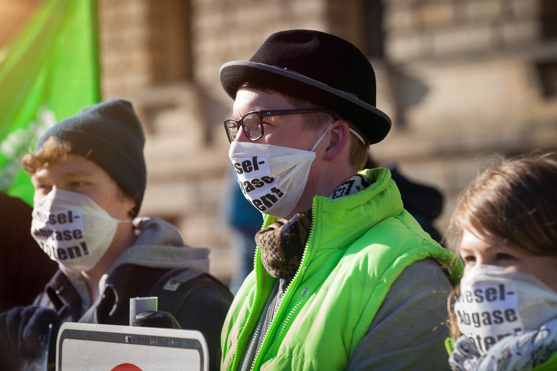 Deutsche Umwelthilfe klagt für saubere Luft